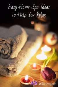 Easy Home Spa Ideas to Help You Relax