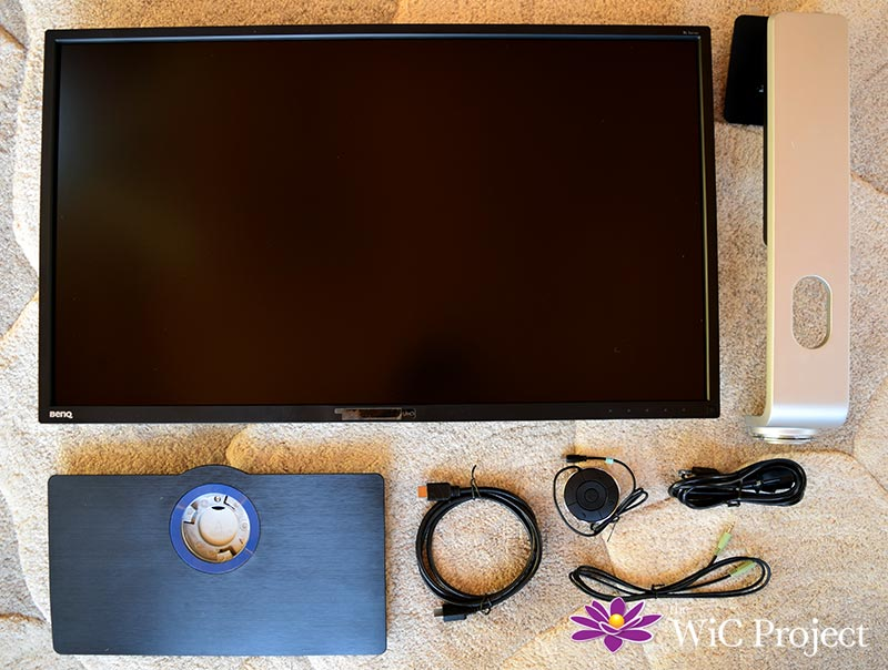 BenQ BH3201PL Monitor Review - Assembly