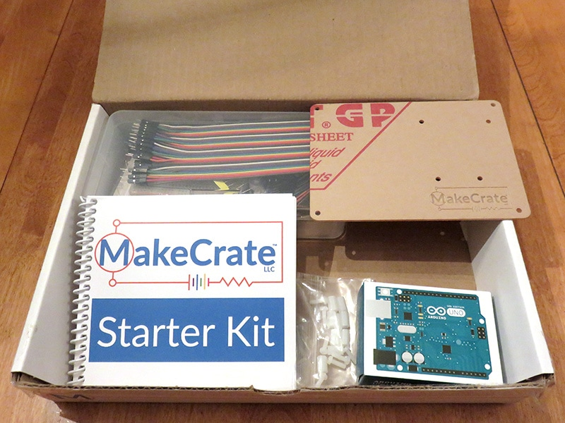 MakeCrate Monthly Coding Kits Starter Kit