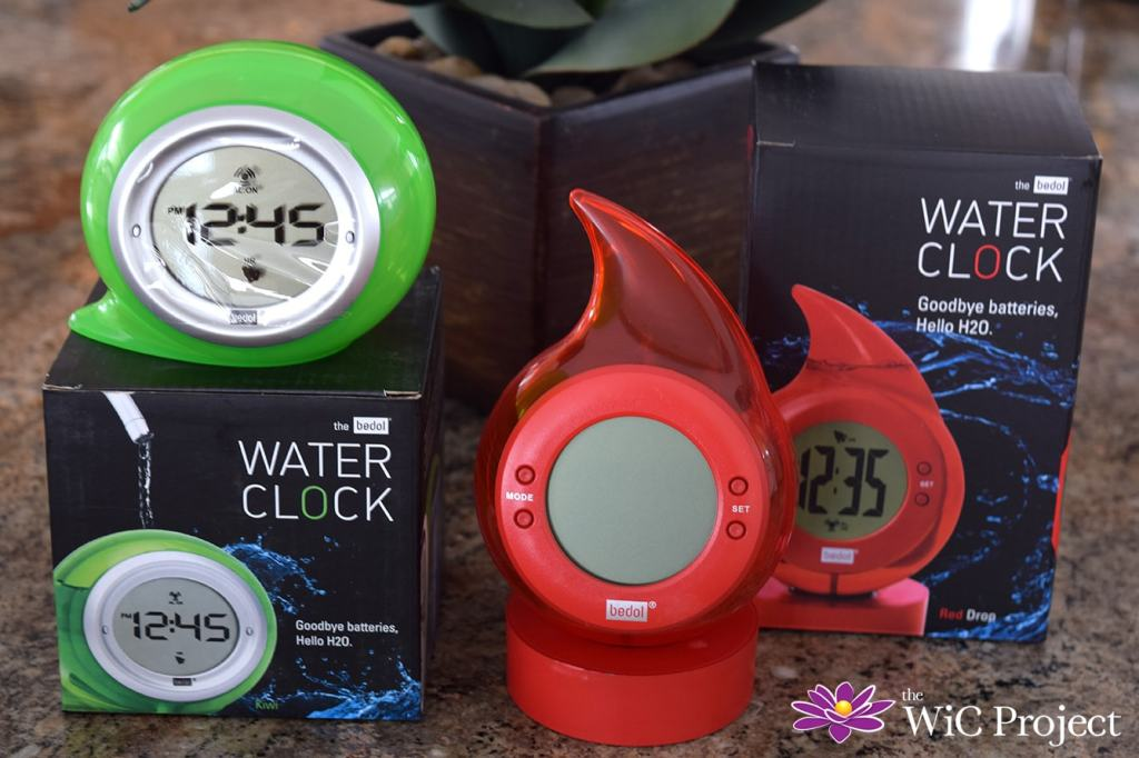 The Bedol Water Clock - The Perfect Eco-Gift for Anyone Who Needs to Know The Time