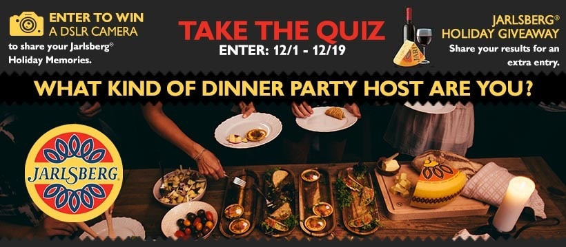 Jarlsberg® Holiday Quiz