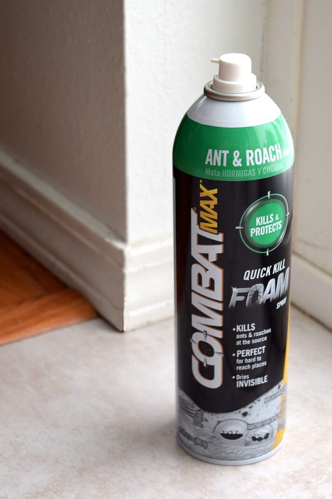 Keep Your Home Ant-Free with Combat Max Ant & Roach Killing Foam Spray