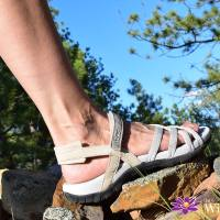 Stylish Sandals for Outdoor Adventures: Viakix Samara Walking Sandal