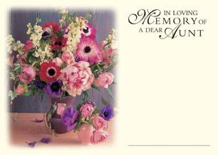 Dear Aunt Sympathy Card