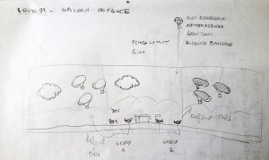 Level Sketch: Balloon Defence