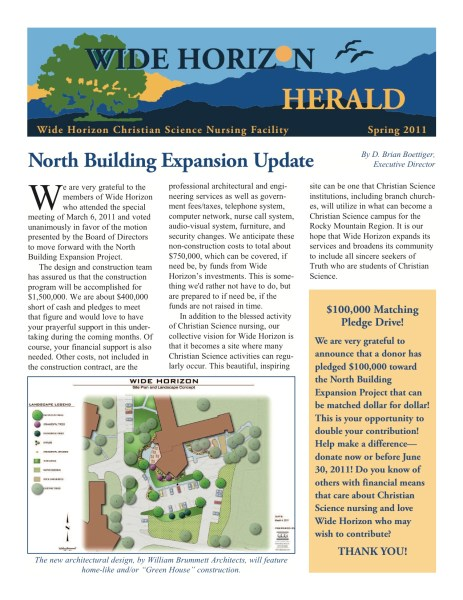 Spring 2011 Wide Horizon Herald