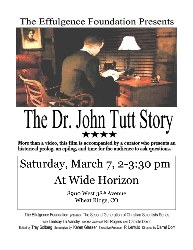 The Dr. John Tutt Story