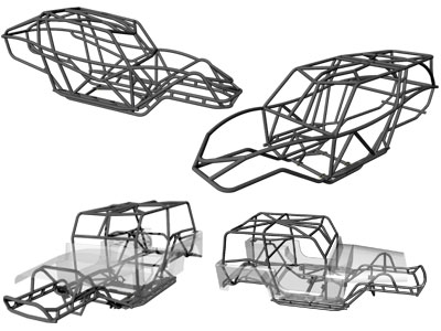 Rock Crawler, Rock Bouncer, Jeep, and Buggy Chassis Selection
