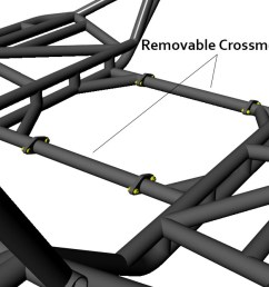 jc chassis removable crossmembers [ 1301 x 667 Pixel ]