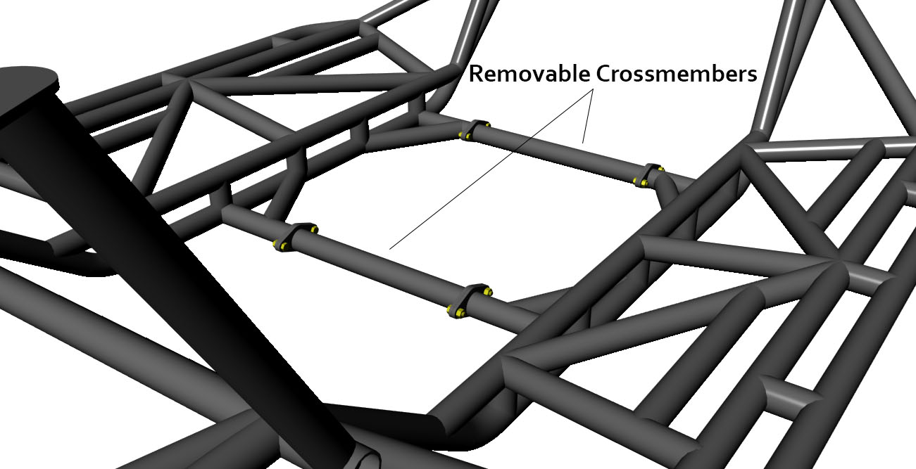 hight resolution of jc chassis removable crossmembers