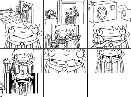 Storyboard : 4Talent : MOVE IT Animation Tutorial