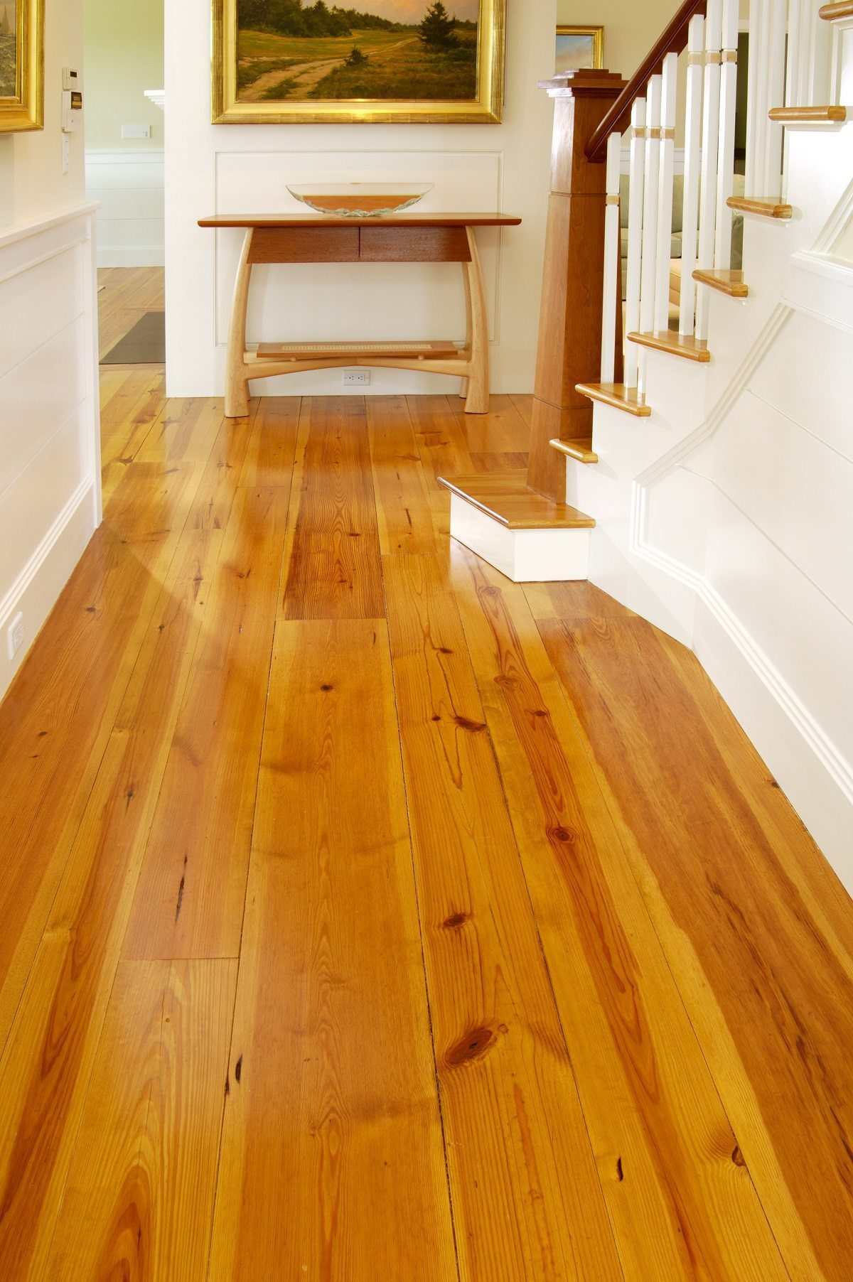 In Pine or Hardwood Floors Wide Planks Are Perfect For