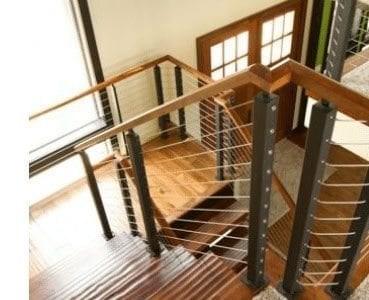 Design Ideas For Stairs To Match Your Custom Hardwood Floors | Hand Scraped Stair Treads | Tread Width | Brazilian Cherry | Stair Parts | Hardwood Floors | Laminate Flooring