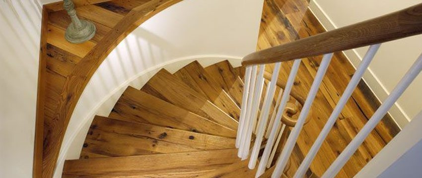 Design Ideas For Stairs To Match Your Custom Hardwood Floors | Prefinished Oak Stair Treads | Natural Red Oak | Risers | Hardwood Flooring | Stair Parts | Flooring
