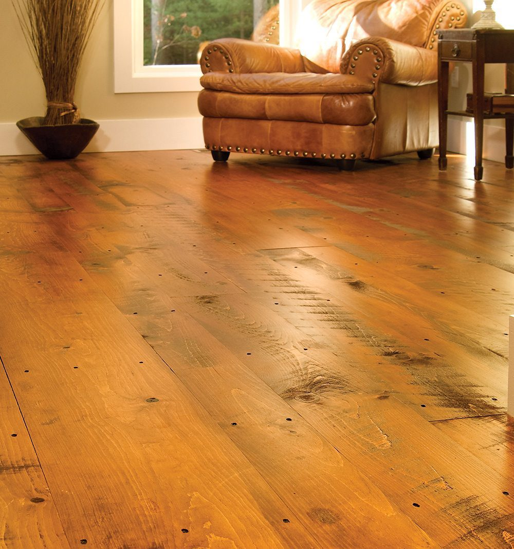 Distressed Wood Flooring  Carlisle Wide Plank Floors