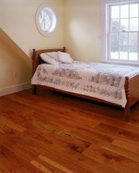 Cherry Wood Floors in a Bedroom | Carlisle Wide Plank Floors