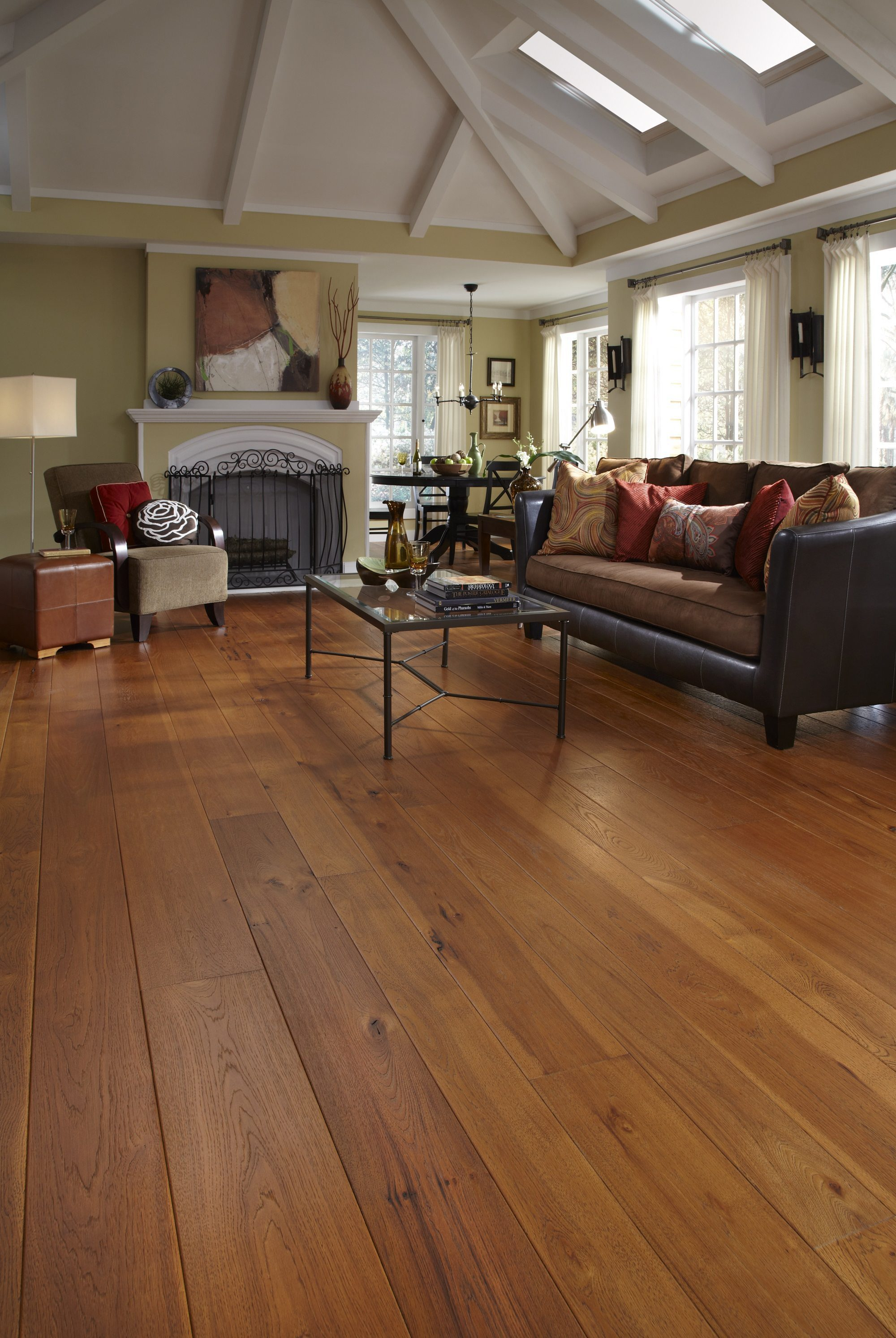 living room showrooms sets sectional hickory hardwood flooring in