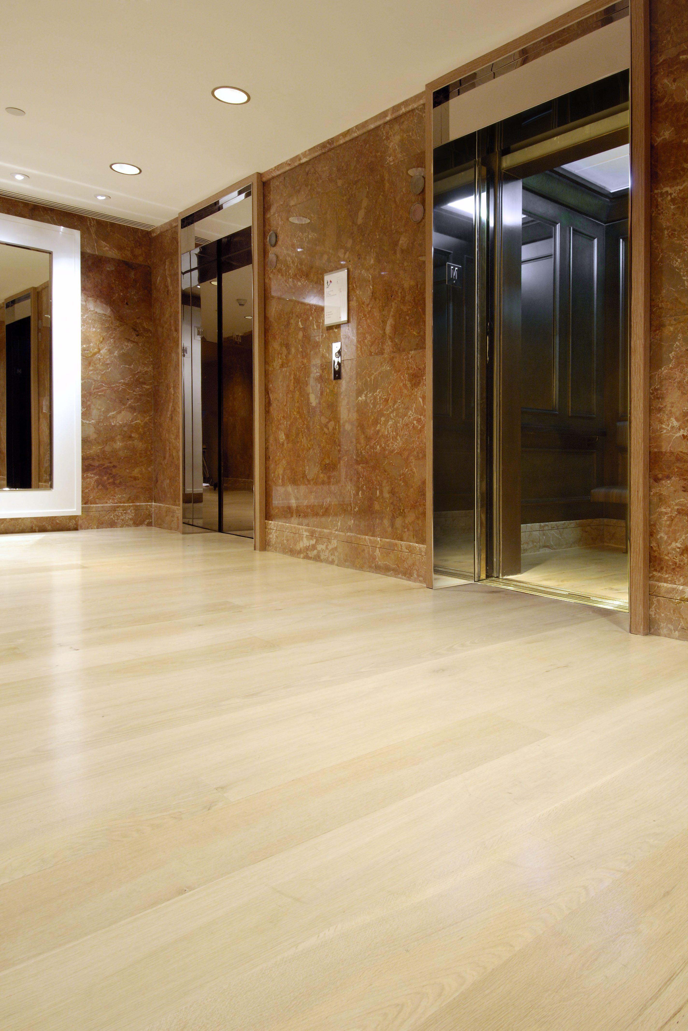 White Oak Floors in the Lobby of the Park Hyatt