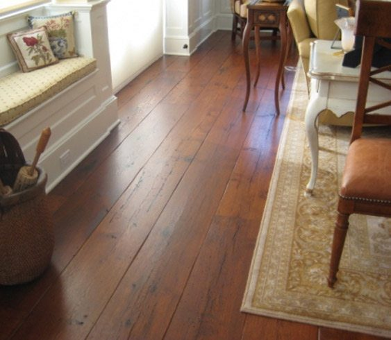Hand Scraped Edge  Hardwood Flooring  Carlisle Wide