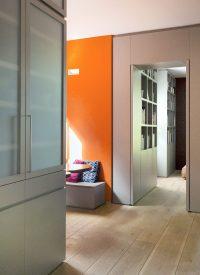 White Oak Flooring in a Residential Hallway