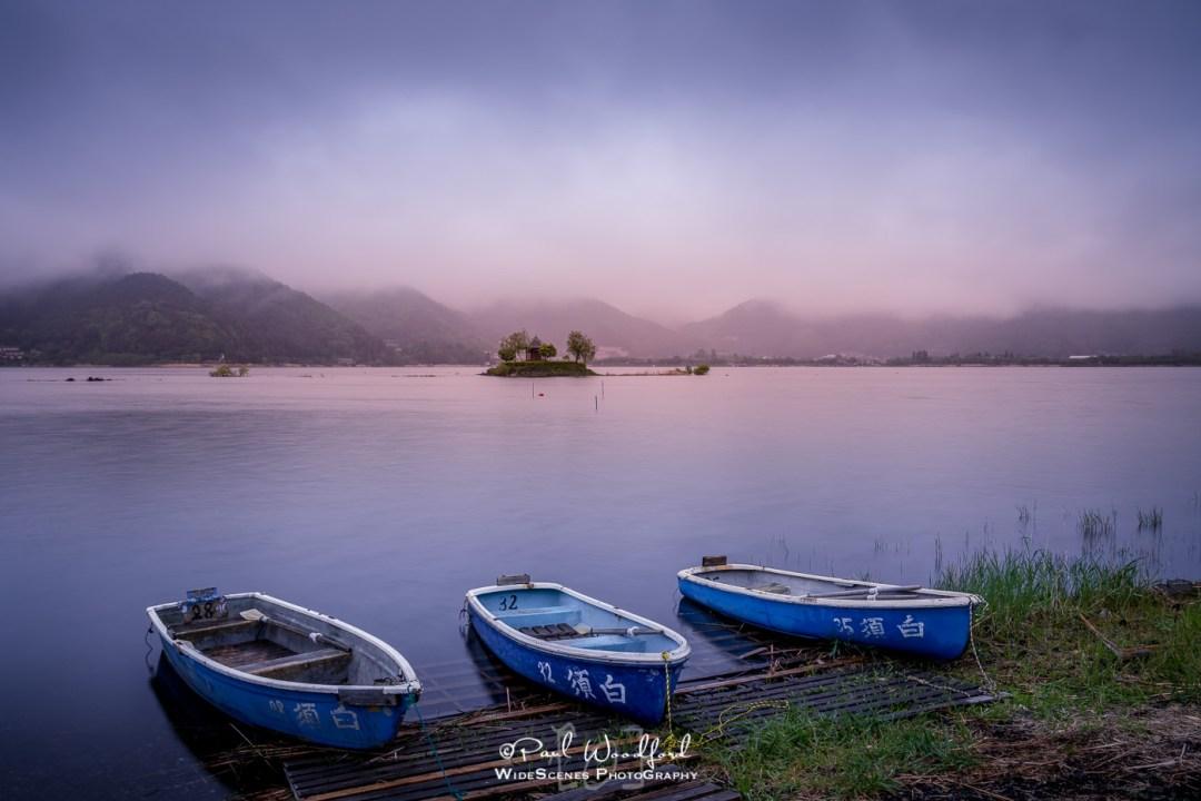 Lake Kawaguchiko, Fuji Five Lakes