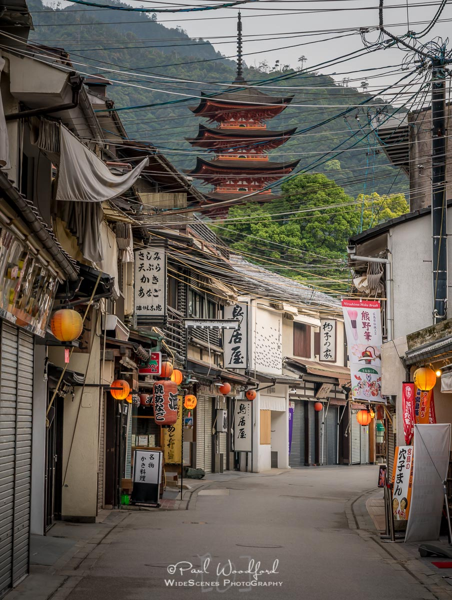 Main Street on Miyajima island