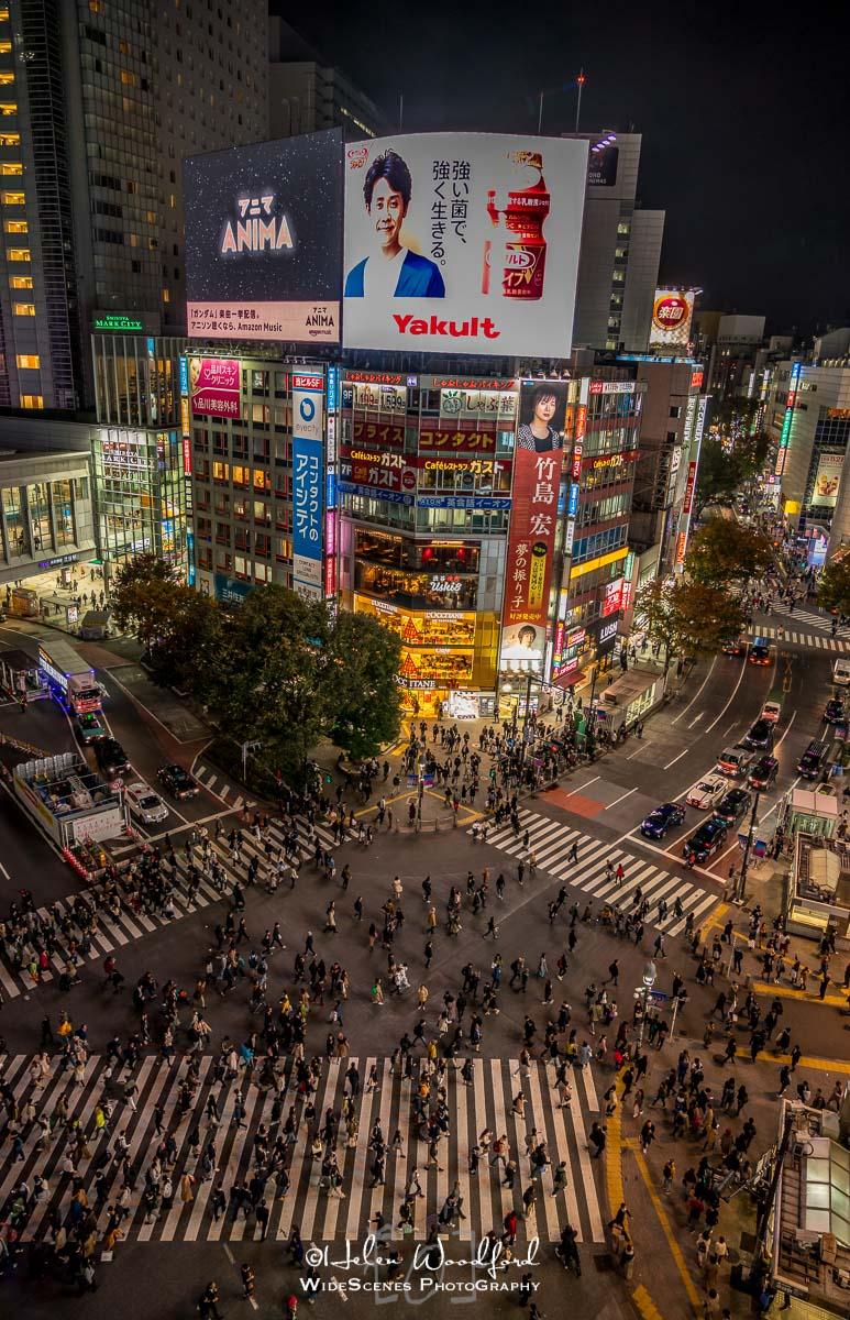 Shibuya crossing from Magnet by Shibuya 109