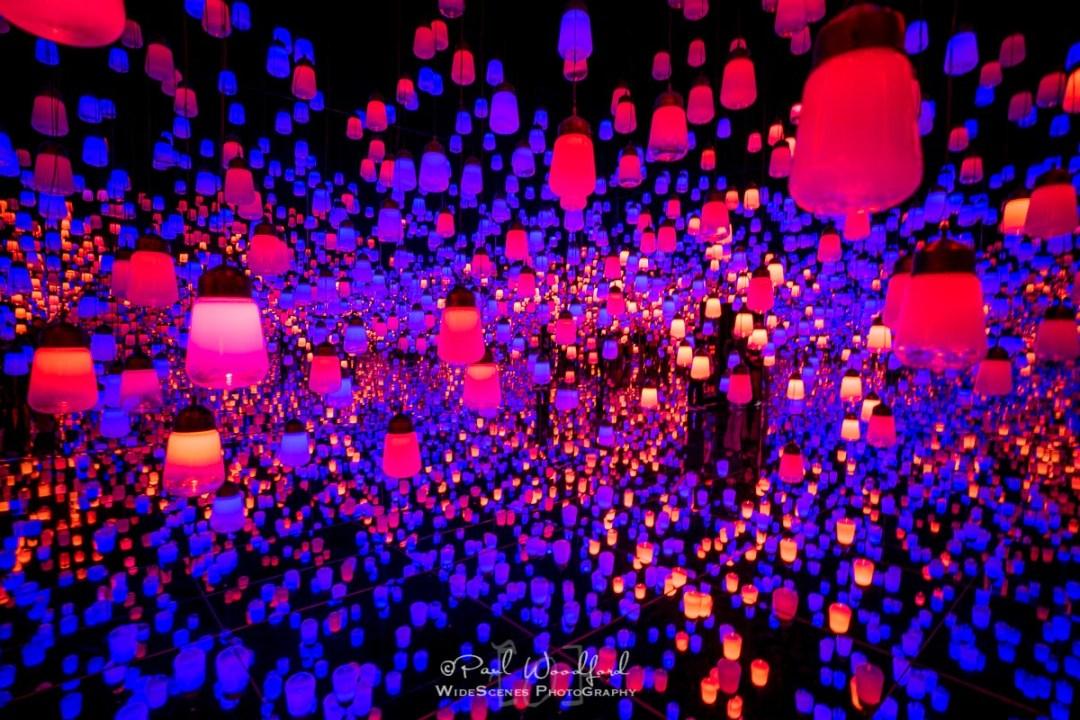 Lanterns at TeamLab Borderless, Tokyo