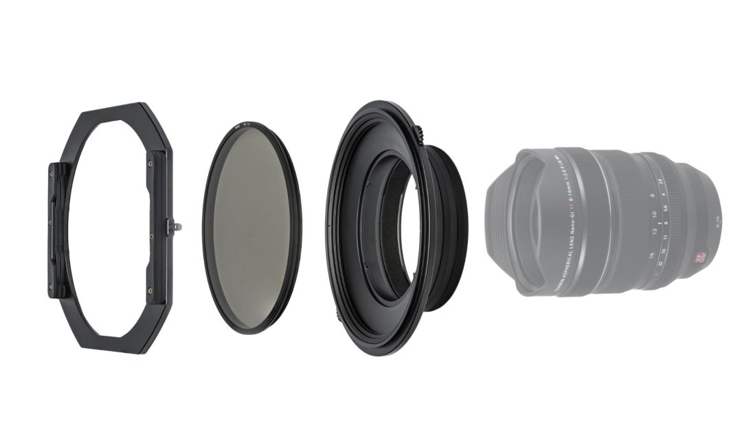 NiSi S5 Kit 150mm Filter Holder with CPL for Fujifilm XF 8-16mm f/2.8 R LM WR Lens