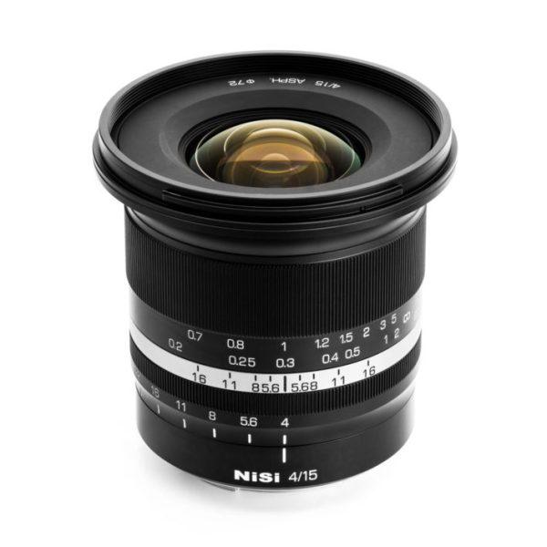 NiSi 15mm f/4 Sunstar Super Wide Angle Full Frame ASPH Lens (Canon RF Mount)