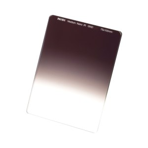 NiSi 75x100mm Nano IR Medium Graduated Neutral Density Filter