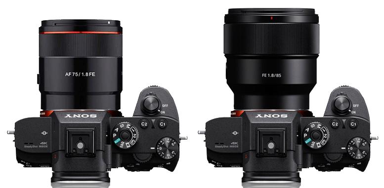 Samyang 75mm v Sony 85mm