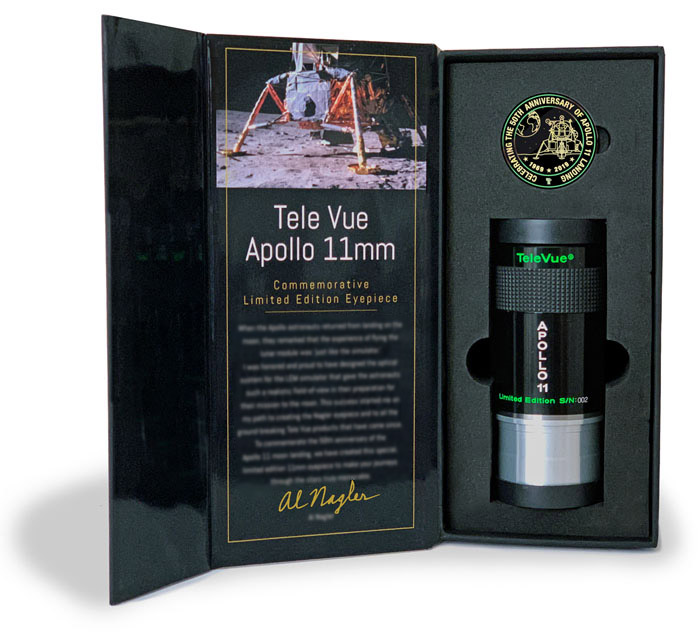 Tele Vue Apollo 11 Special Edition Eyepiece - Widescreen Centre