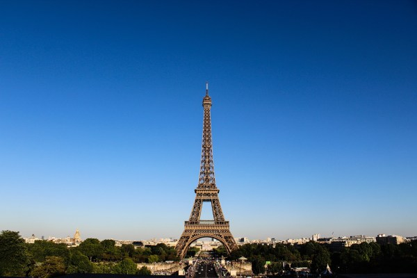 From the Eiffel Tower Paris France