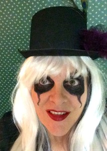 Nope. Haven't grown up yet. Rockin' my outfit for the Alice Cooper Hallowe'en Show.