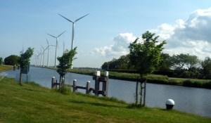 New style windmills.