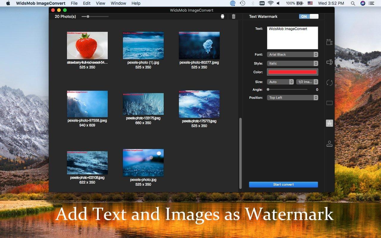 WidsMob ImageConvert 2.17 Mac 破解版 - 图片格式转换工具