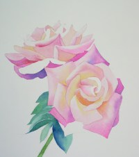 Blten malen, Blumen mit Aquarellfarben malen AnleitungWie ...