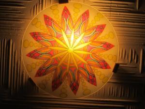 Lampen-Mandala