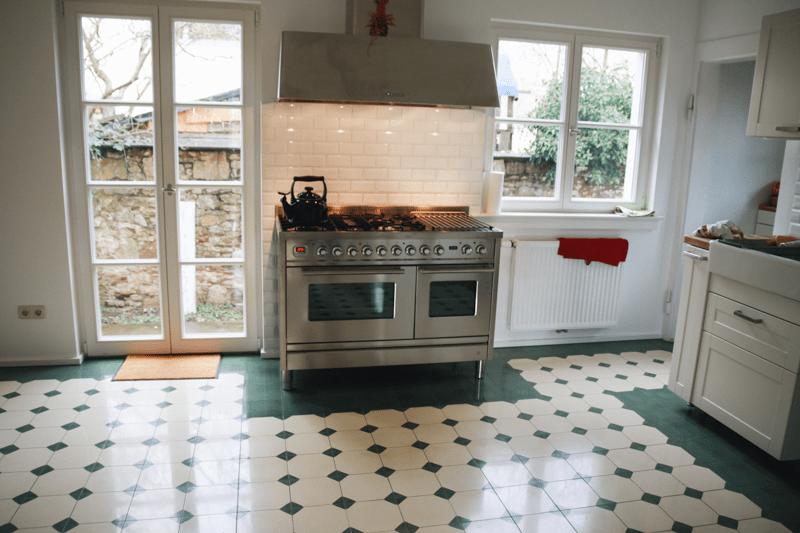 Privat-Zementfliesen-Küche-9 - Wieczorek Fliesen