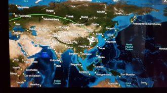 Flug nach Hongkong