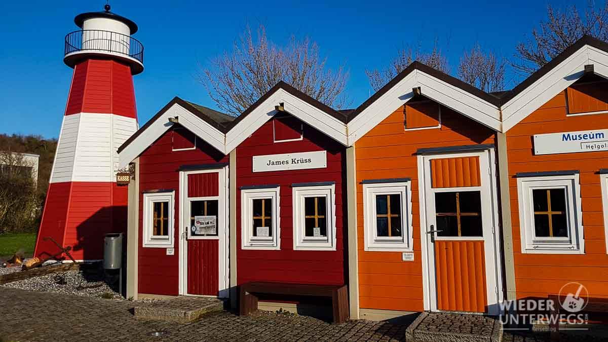 Hummerbuden im Helgoland Museum