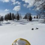 Schneeschuhwandern: 20 Jahre zu spät, aber hochmotiviert.