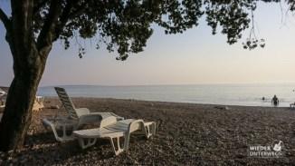 Strand beim Mobilhome