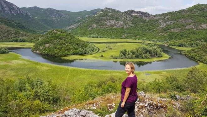 Montenegro Urlaub Fluss Ausblick
