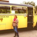 Wiederunterwegs mit dem Oldtimer Postbus