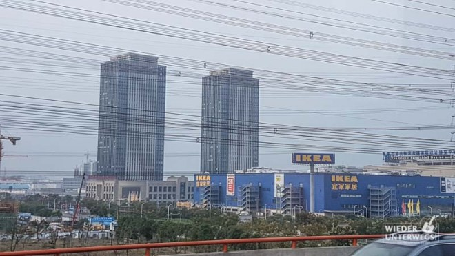 Erster Eindruck von Shanghai