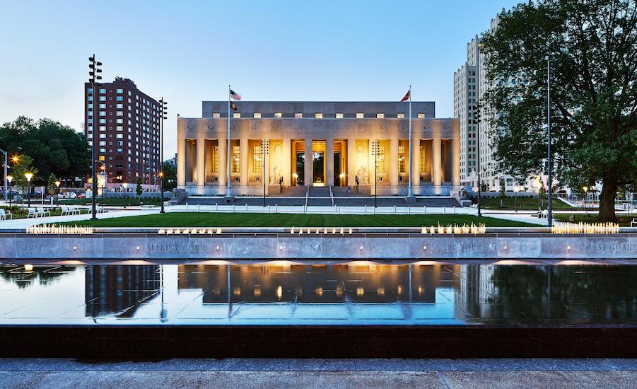 Soldiers Memorial Military Museum Renovation St Louis MO  Wiegmann Associates