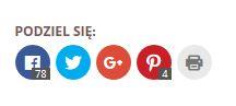 Social Media - podziel się ikony SM