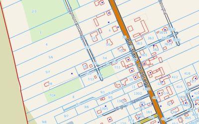 mapy geo - numery działek, drogi publiczne